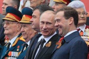 Путін та Медведєв приїдуть в Севастополь 9 травня