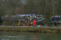 Две железнодорожные аварии с жертвами произошли в Баварии в понедельник