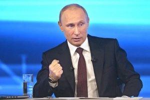 Путин считает бессмысленным разоружение террористов на Донбассе