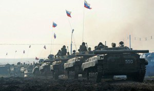 СНБО: РФ сформировала на границе Украины колонну со 100 единицами техники