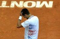 Джокович потерпел поражение на старте Мастерса в Монте-Карло