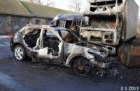 """В Одесской области подожгли автомобиль """"свободовца"""""""