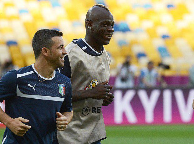 Гравці збірної Італії тренуються в Києві на НСК <<Олімпійський>>