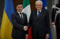 Зеленский обсудил с президентом Италии интеграцию Украины в НАТО и ЕС