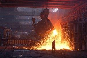 Украина вошла в число лидеров по темпам падения производства стали