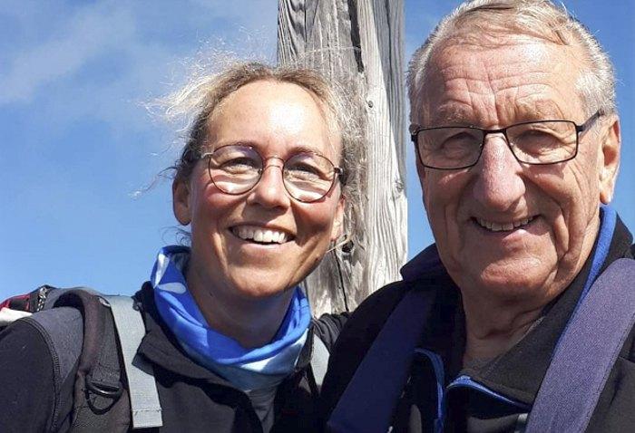 Ульріке та її батько Йоста Андерссон