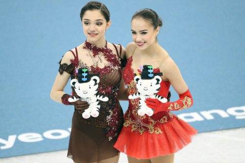 Фигуристка Загитова завоевала для команды олимпийских атлетов из России первое золото Пхёнчхана
