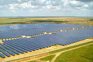 Крымская солнечная электростанция стала крупнейшей в мире