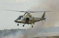 В Бельгии пилот с высоты в несколько сотен метров выпал из военного вертолета
