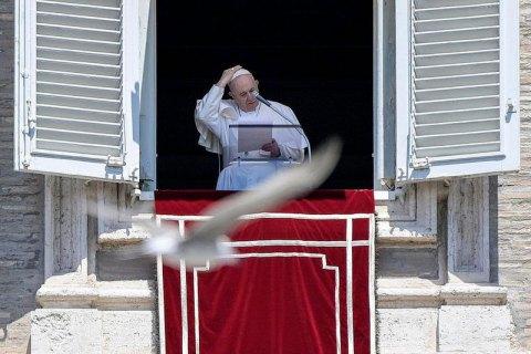Папа Римський підтримав перемир'я на Донбасі
