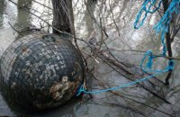 У Дунаї біля Ізмаїла виловили ще п'ять мін часів Першої та Другої світових
