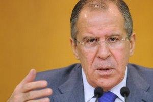 В Україну їде голова російського МЗС
