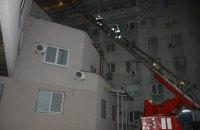 В больнице им. Мечникова из-за ночного пожара эвакуировали 92 человек