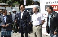 Оппозиция отправилась в предвыборный тур