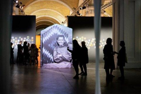 Параска Плитка-Горицвит в Мистецьком Арсенале: Душевность в позолоченной раме