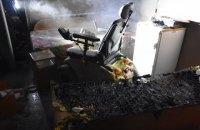 Унаслідок пожежі в одеському санаторії важкі опіки отримав пацієнт з інвалідністю