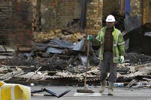 Очистить Лондон от последствий погромов помогают добровольцы