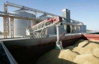 Экспорт зерна из Украины вырос в полтора раза