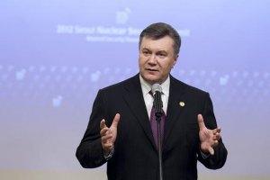 Янукович звелів поліпшити законодавство про мови