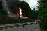У Вінниці стався вибух на газовій заправці