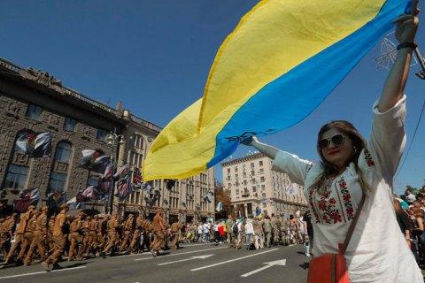 На День Независимости в центре Киева временно запретят движение транспорта