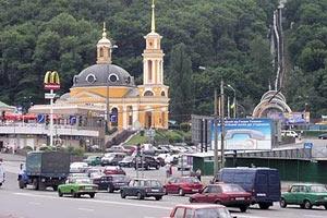 В Киеве открыли новый путепровод на Почтовой площади
