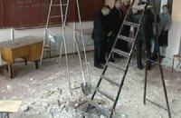В одной из школ Вининицкой области во время перемены рухнула крыша
