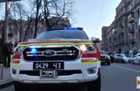 По Киеву начали ездить автомобили с громкоговорителем, призывающие жителей соблюдать карантин