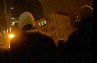 У Харкові невідомі напали на мітинг Євромайдану