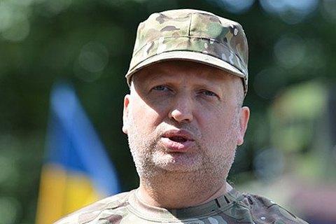 Турчинов: Украина пока не может отказаться от призыва на срочную военную службу