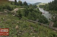 Оползень отрезал от мира пять сел в Карпатах