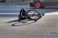 Автомобиль начальника полиции Ивано-Франковской области сбил насмерть велосипедиста