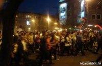 В Ереване прошли траурные шествия