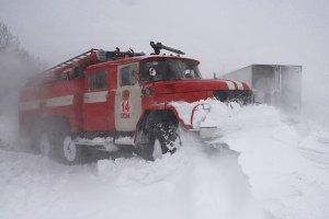 На Западе Украины ожидаются сильные снегопады и метели