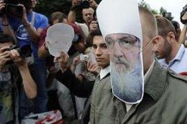 Суд признал виновным участника протеста против Кирилла