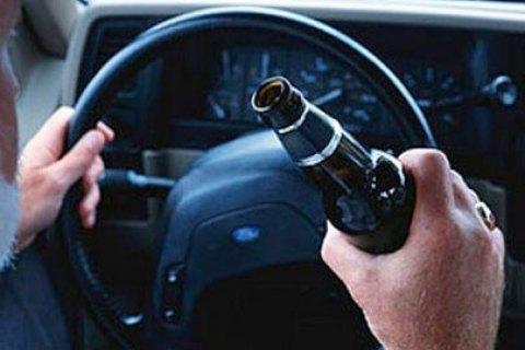 МВС пропонує ввести кримінальне покарання за порушення ПДР у п'яному вигляді