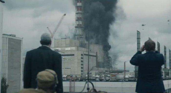 Кадр из сериала 'Чернобыль'