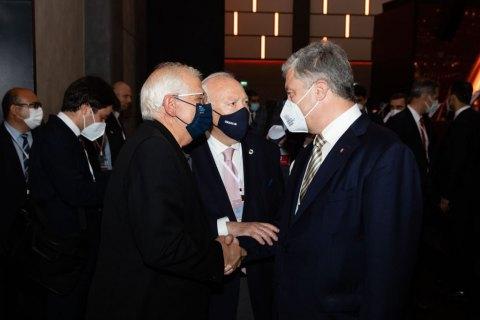 Порошенко встретился в Турции с  Жозепом Боррелем