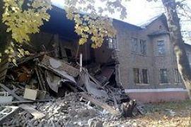 В Луганской области рухнул двухэтажный дом