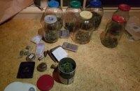 Киевские полицейские изъяли у отца с сыном наркотиков на 4 млн гривен