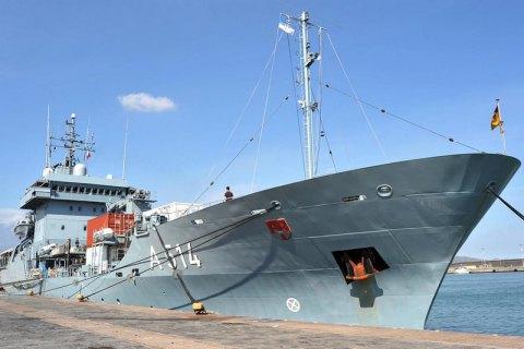 Германия отправит в Черное море плавбазу Werra