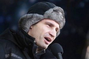 Кличко согласен на дебаты с Януковичем после его отставки