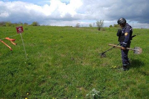 За тиждень сапери розмінували понад 60 га території Донецької і Луганської областей