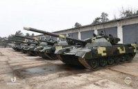 """""""Укроборонпром"""" виконав контракт на модернізацію 30 танків Т-72"""