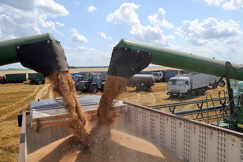 Україна експортувала рекордний обсяг зернових
