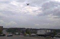 Поліція Київської області почала застосовувати дрони для боротьби із заторами