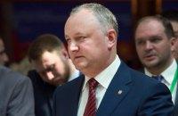 """Додон договорился о встрече с Зеленским """"в ближайшее время"""""""