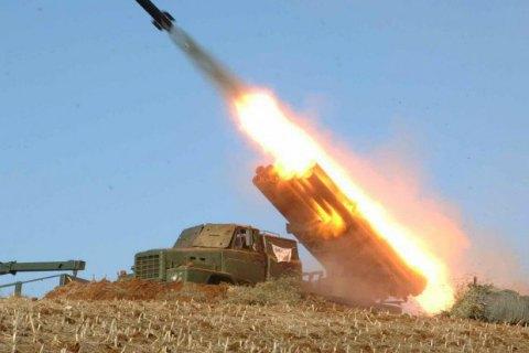 Північнокорейська артилерія знищила макет резиденції президента Південної Кореї
