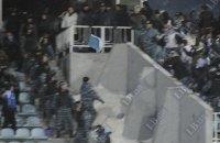 У бійці футбольних фанатів у Києві постраждали 10 іноземців