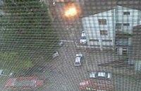 На вулиці в Одесі стався вибух